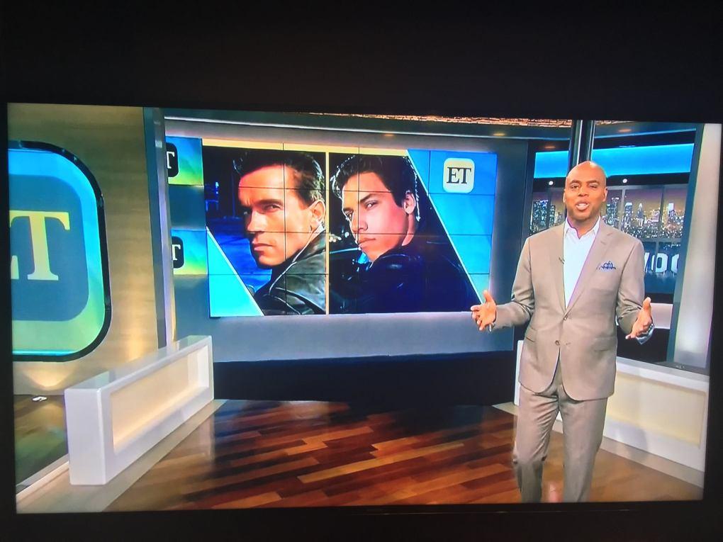 Entertainment Tonight show clip.